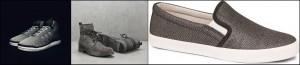 Da esq. para direita – Adidas, Bota Democrata e Star Tech – Tênis