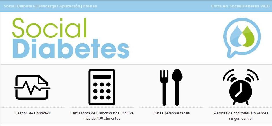 Controle seus diabetes com o Diabetes app social, Big Impact MWC
