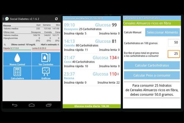 Diabetes App social